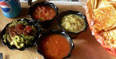 Pote de salsa cuacamole