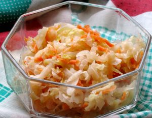 bol ensalada repollo zanahoria