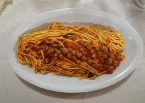 plato vemicelli albóndigas