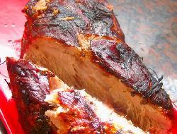 Bondiola de cerdo al horno más light
