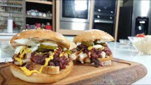 Sandwich de malaya agridulce