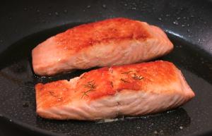 receta de salmon con cous cous