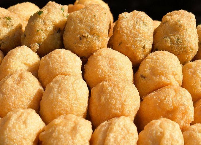 receta de buñuelos de sesos
