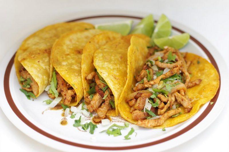 receta tortilla tacos