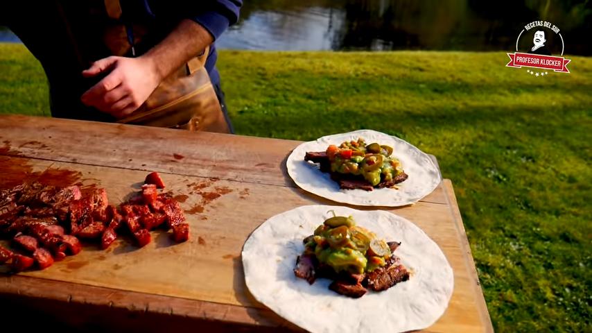 Tacos de Arrachera Picante