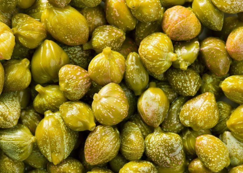Salsa verde de alcaparras