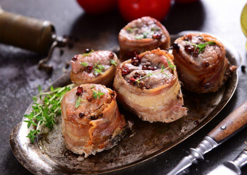 Arrollados individuales de carne, un menú ideal para una reunión